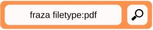 wyszukiwanie zaawansowane pdf