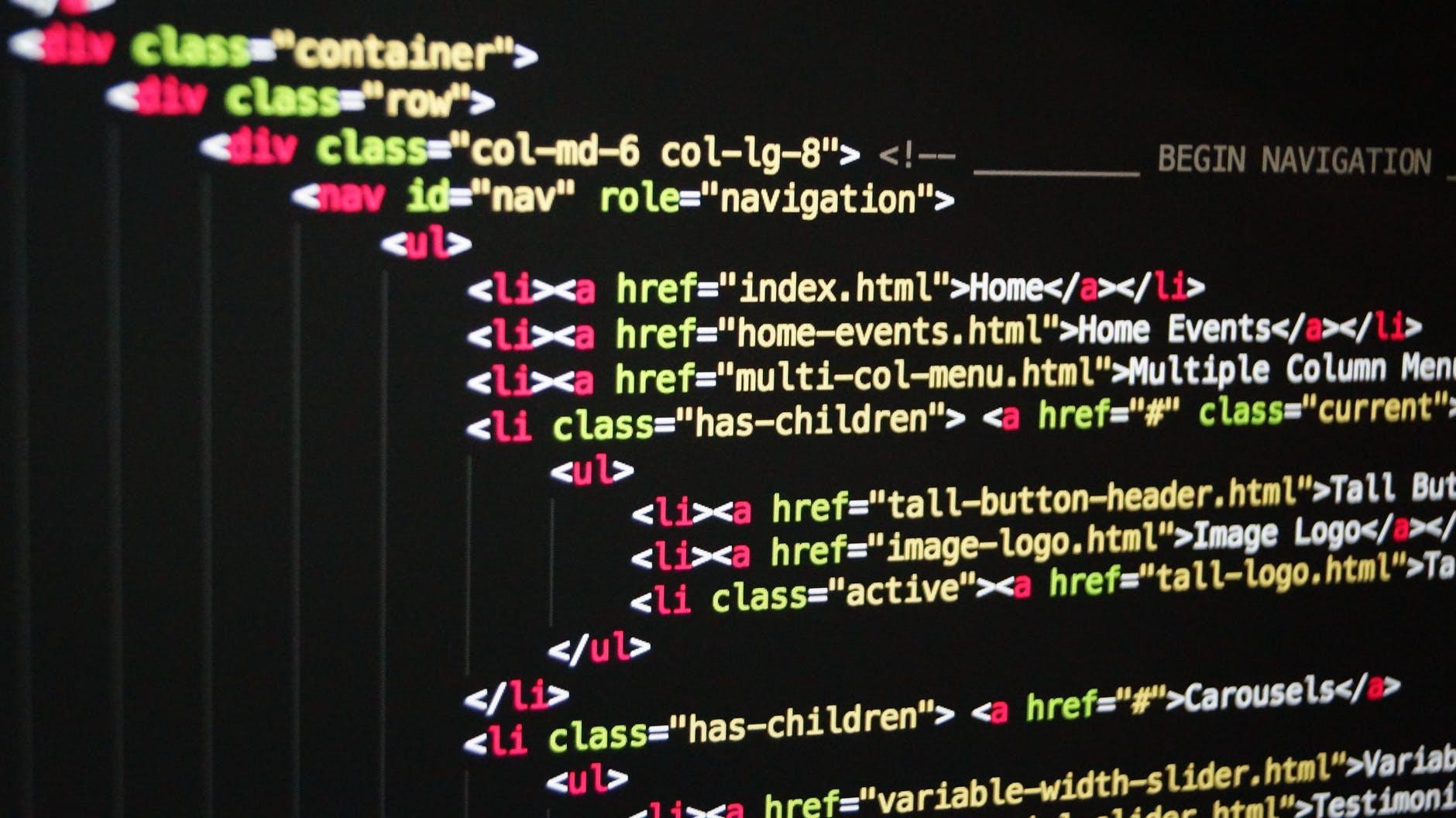 Anchor tekst w HTML