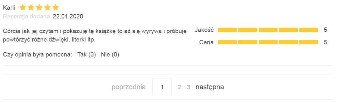 paginacja recenzji