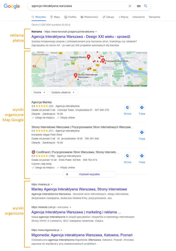 Dlaczego mojej firmy nie ma w wynikach Google?