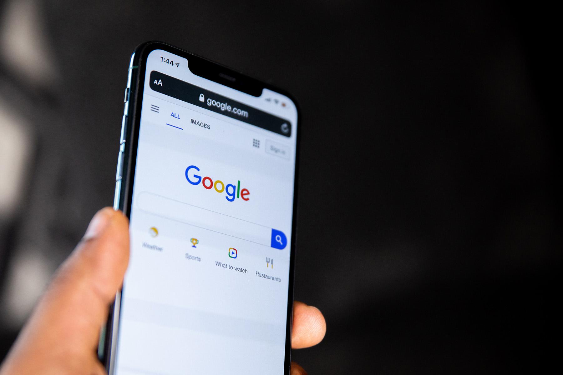 Nieskonczone wyniki wyszukiwania w Google
